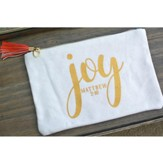 Joy Zipper Bag - Christmas
