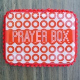 Prayer Box, Polka Dot, Red