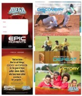 MEGA Sports Camp Epic Moments Poster Pack