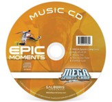 MEGA Sports Camp Epic Moments Music CD - Slightly Imperfect