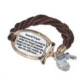 Serenity Two-toned Plaque Bracelet