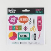 Bright and Brave, Elements Cardstock Stickers