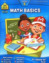Math, Grade 5 Deluxe Edition, An I Know It! Workbook