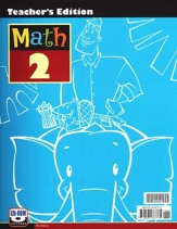 BJU Math Grade 2 Teacher's Edition (Book & CD-Rom), Third Edition