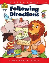General Learning-Following Directions, Preschool Get Ready Workbooks