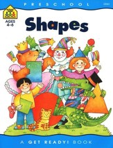 General Learning-Shapes, Preschool Get Ready Workbooks