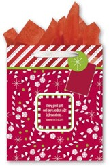 Candy Canes Gift bag, Large