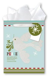 Peace, Dove Gift bag, Medium
