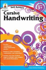 Skill Builders Cursive Handwriting Grades 3-4