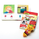 Hot Dots Tots, Colors and Shapes Interactive Board Book Set