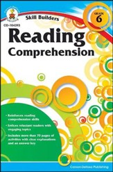 Skill Builders Reading Comprehension Grade 6