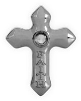 Lord's Prayer, Faith Cross. Pocket Token