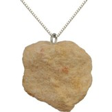 Jerusalem Stone Fixed Hoop Necklace