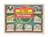 My First Wooden Stamp Set, Farm Animals