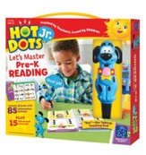Hot Dots Junior, Let's Master Pre-K Reading