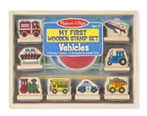 My First Wooden Stamp Set, Vehicles