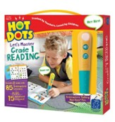 Hot Dots Junior, Let's Master Grade 1 Reading