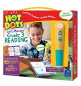 Hot Dots Junior, Let's Master Grade 3 Reading