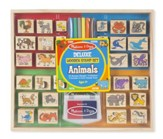 Animals Wooden Stamp Set