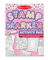 Stamp Marker Activity Pad, Pink