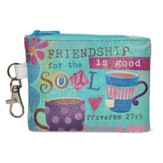 Friendship is Good for the Soul Coin Purse