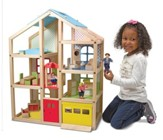 Hi-Rise Dollhouse and Furniture