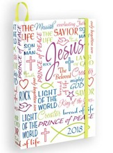 2018 Names of Jesus Perfect Planner