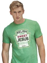 Relish Sweet Jesus Shirt, Green, XX-Large