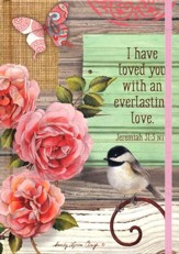 2018 Everlasting Love (Jeremiah 31:3) Perfect Planner