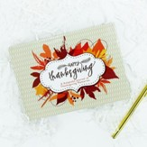 Thanksgiving Keepsake Journal