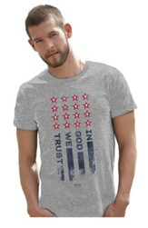 In God We Trust Shirt, Gray, Large