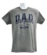 Father's Day Shirt, Gray, Large