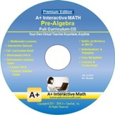 Pre-Algebra Full Curriculum Software Premium Edition