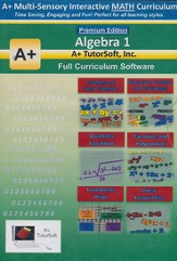 Algebra 1 Full Curriculum Software Premium Edition  - Slightly Imperfect