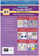 1st Grade MATH Full Curriculum Software Premium Edition