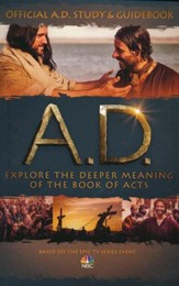 A.D. Official Study & Guidebook   - Slightly Imperfect