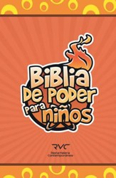 Biblia de Poder para Niños RVC, Enc. Dura  (RVC Fire Bible for Kids, Hardcover)
