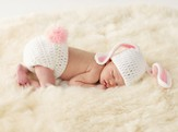 Newborn Bunny Set, 2 Piece