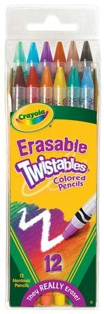 Crayola, Twistables Colored Pencils, 12 Pieces