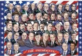 Presidents of the U.S.A. Floor  Puzzle, 100 pieces