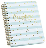 Scripture Journal, Stripes and Polka Dots