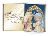 Unto Us a Child is Born, PM Tabletop Book Figurine