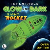 Glow in the Dark Inflatable Rocket