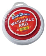 Red Large Washable Ink Stamp Pad