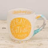 Pray Without Ceasing Jumbo Mug