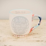 Be Still and Know That I Am God Jumbo Mug