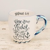 Hope Is An Anchor For My Soul Jumbo Mug