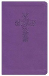 NKJV Personal Giant Print Reference Bible Purple  - Slightly Imperfect