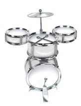 Desktop Bass Drum Set