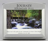 Journey Scripture Card Holder with 30 Devotional Scripture Cards